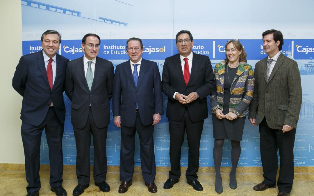 Emilio de Llera y Javier González de Lara abordan 'la mediación como instrumento en la resolución de conflictos'