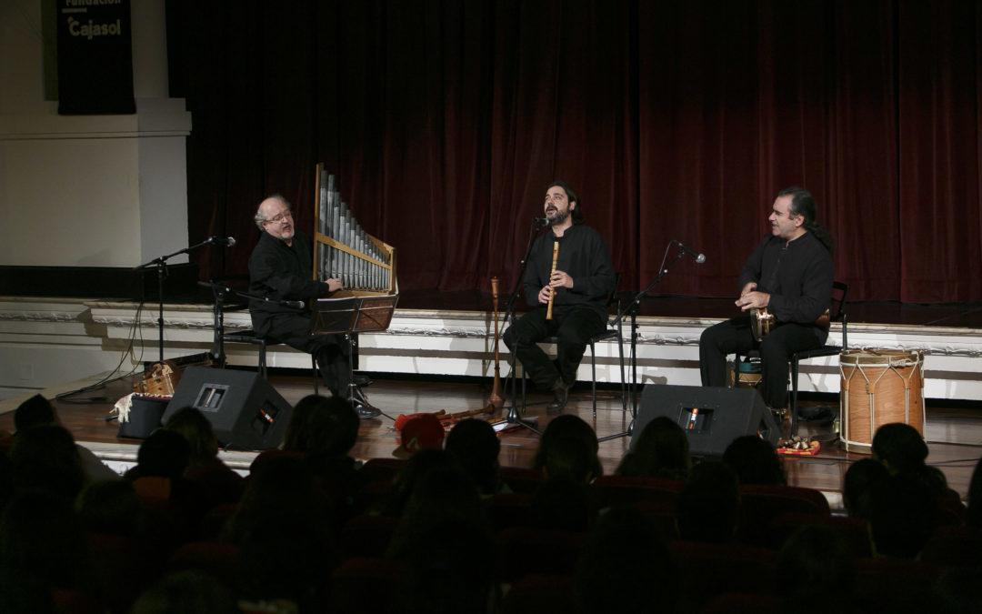 Concierto didáctico para acercar la música de la Edad Media a los escolares