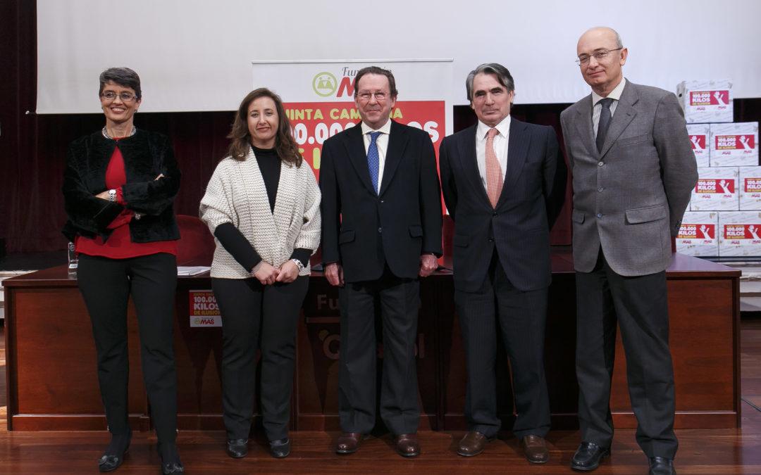 Inicio de la V campaña '100.000 kilos de ilusión' de la Fundación MAS
