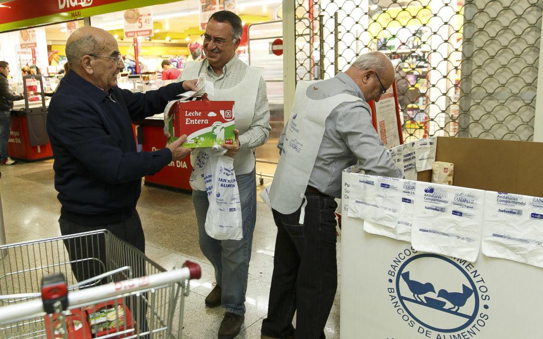 La 'Gran Recogida 2014' se salda con más de 3,6 millones de alimentos para los andaluces más necesitados