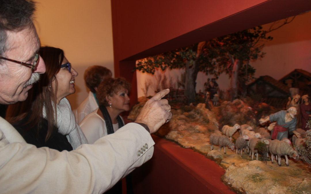 La Fundación Cajasol inicia la Navidad en Huelva con la inauguración del Belén en el espacio cultural Plus Ultra