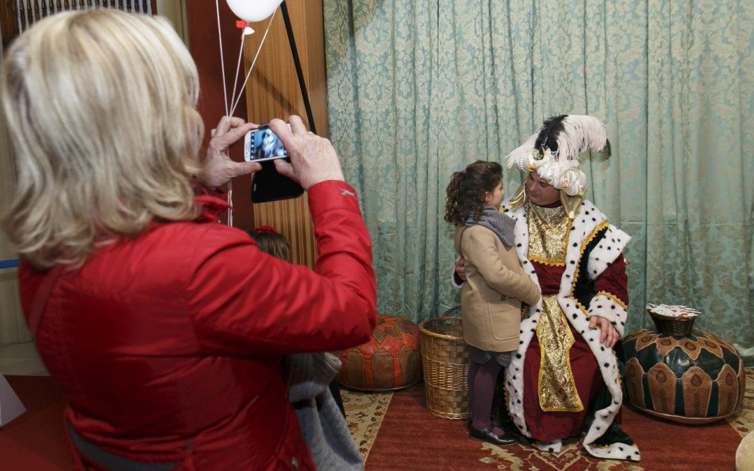 El Paje Real recibirá cartas para los Reyes Magos en la Fundación Cajasol hasta el 4 de enero