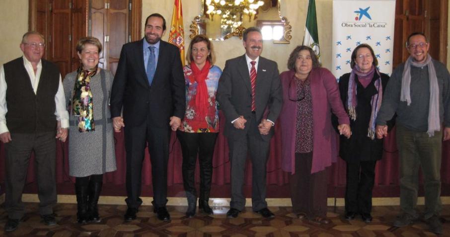 Fundación Cajasol, Obra Social 'la Caixa' y Junta de Andalucía impulsan cinco proyectos de acción social en Almería