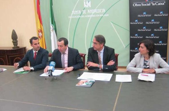 Fundación Cajasol y Obra Social 'la Caixa' destinan más de 300.000 euros a 16 proyectos sociales de Málaga