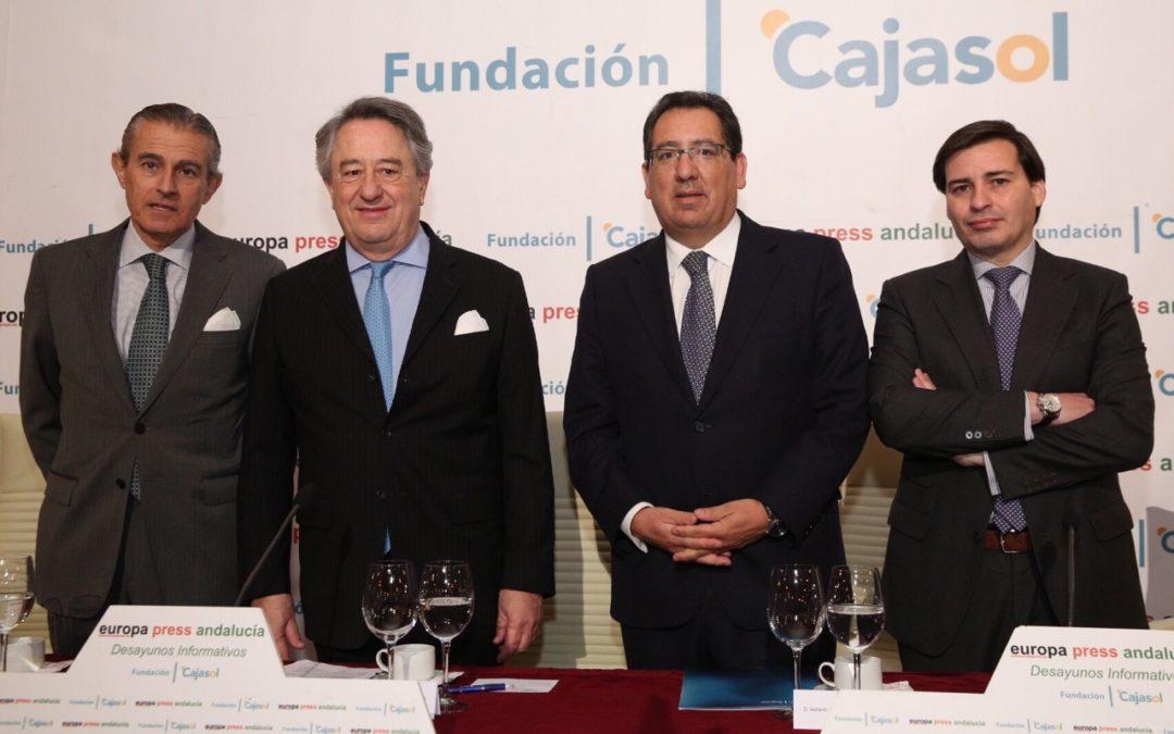 Javier Targhetta, protagonista de un nuevo Desayuno Informativo de Europa Press en la Fundación Cajasol