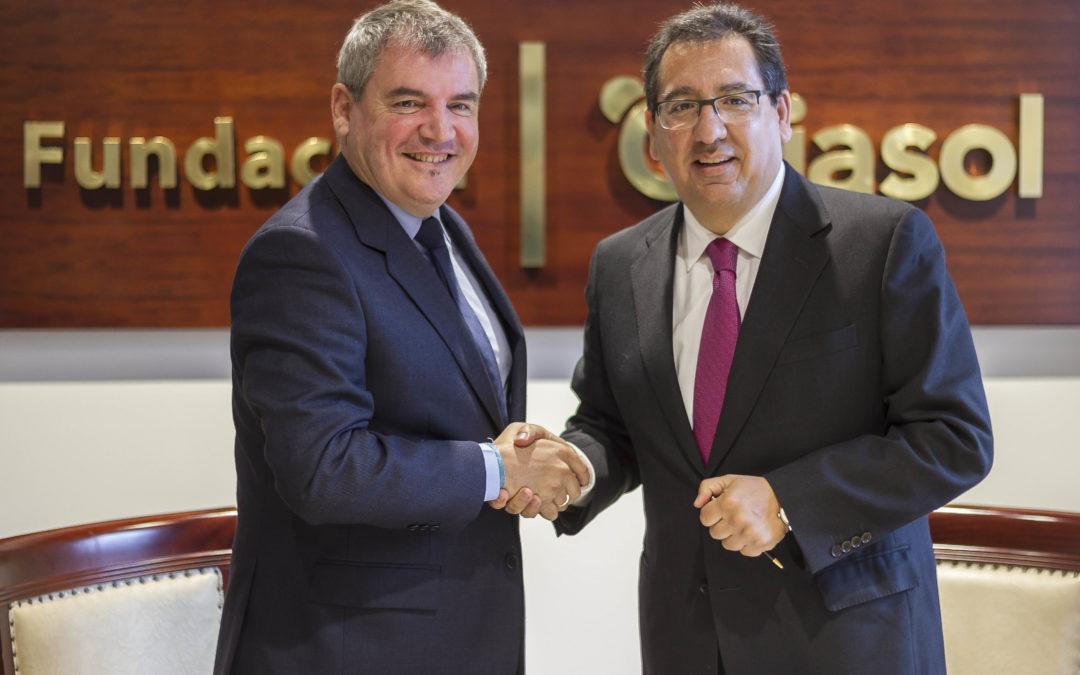 Fundación Cajasol y Fundación Cádiz CF sellan un acuerdo de colaboración orientado al fomento del deporte base
