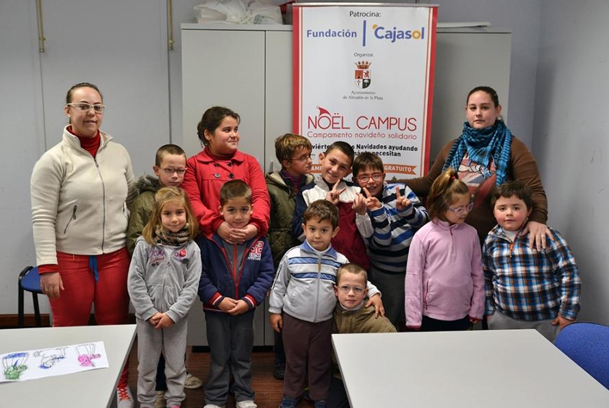 Más de 350 niños participan en el Campamento de Navidad 'Nöel Campus'