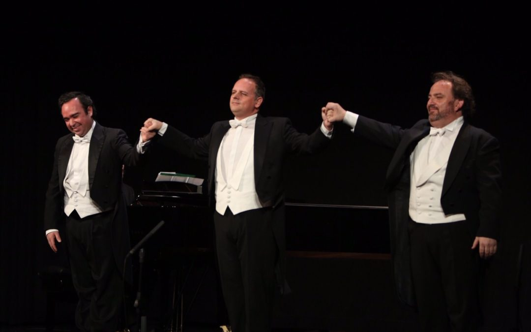 'Las melodías más bellas del mundo', de la mano de Teatro Lírico Andaluz y 'Los tres tenores' en la Fundación Cajasol