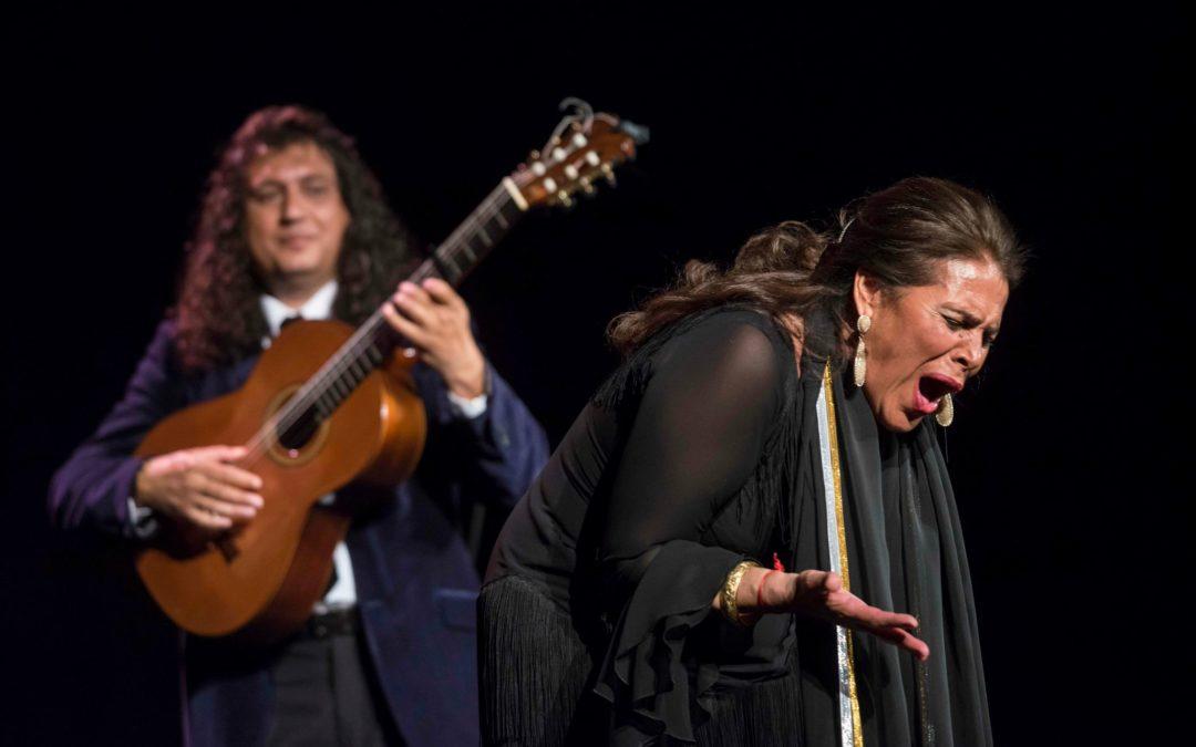 Aurora Vargas presenta su recital de cante en los 'Jueves Flamencos' de la Fundación Cajasol