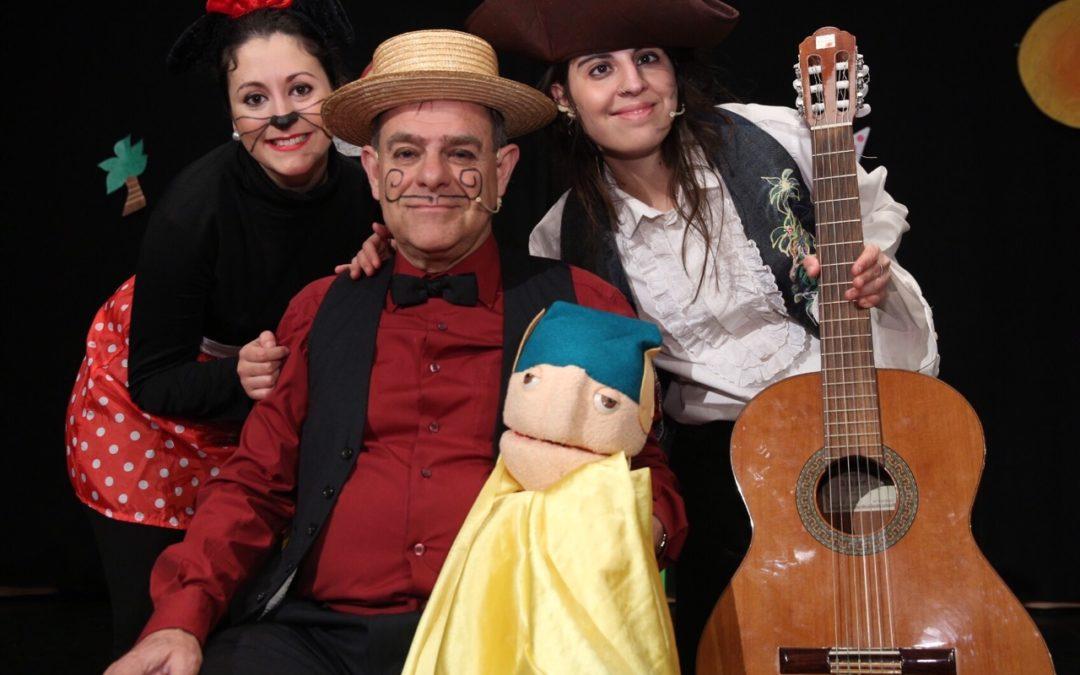 Teatro-Circo 'La Plaza' recupera los cuentos a través de la música con 'Cántame un cuento' en la Fundación Cajasol