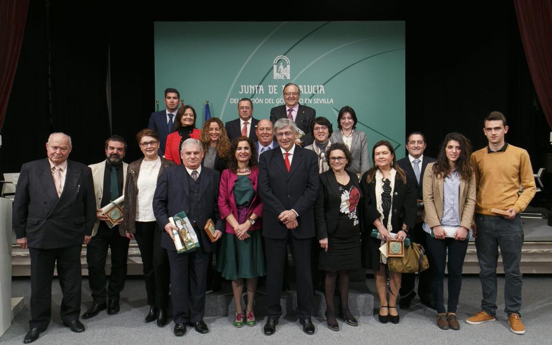 Entrega de los Premios 'Banderas de Andalucía' en la Fundación Cajasol