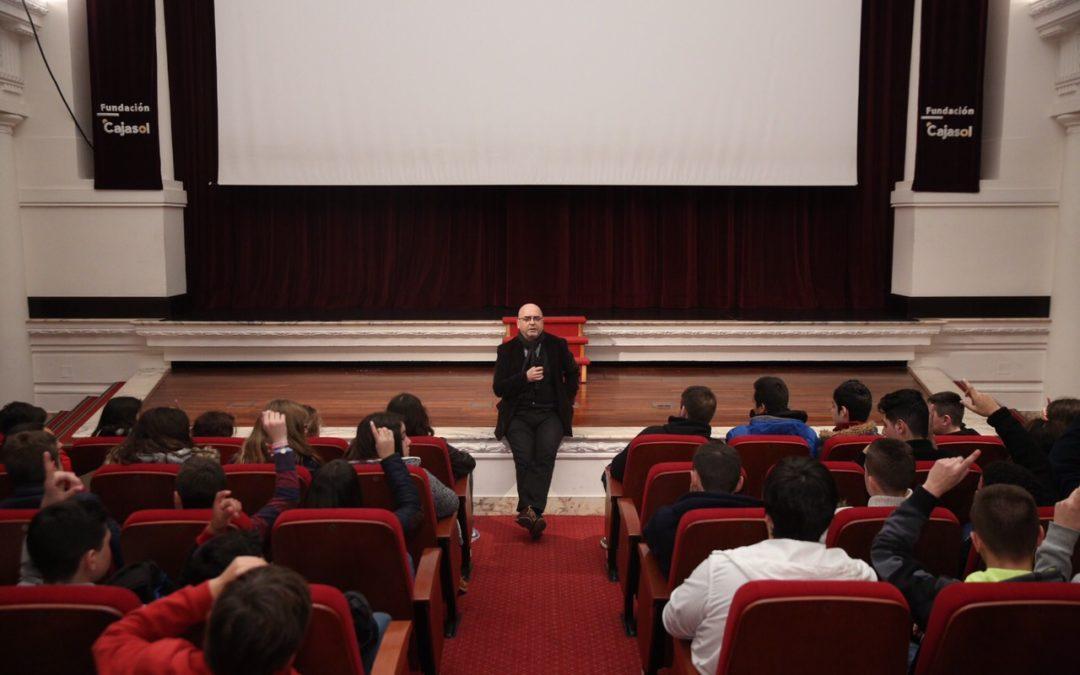 El programa educativo de la Fundación Cajasol acerca el cine andaluz a los escolares