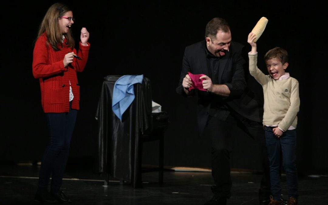 Fin de semana de magia en la Fundación Cajasol