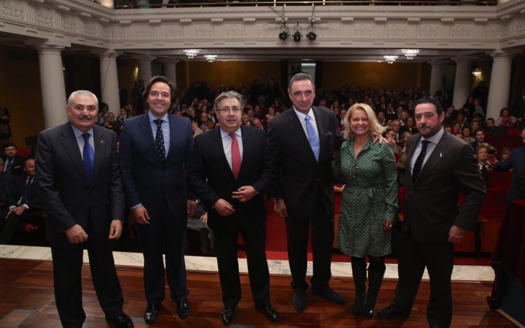 La Fundación Cajasol acoge la IV Gala 'Olivo de Plata'