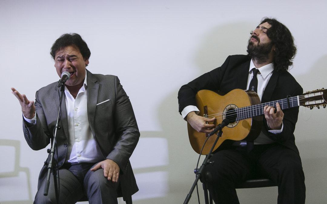José Valencia despliega su mejor cante jondo en el Ciclo 'Conocer el Flamenco' de la Fundación Cajasol en Cádiz y Huelva