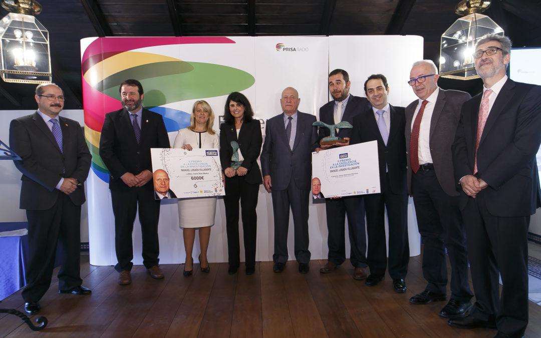 Irene Díaz Moreno y Antonio Jesús Meléndez Martínez reciben los premios Manuel Losada Villasante