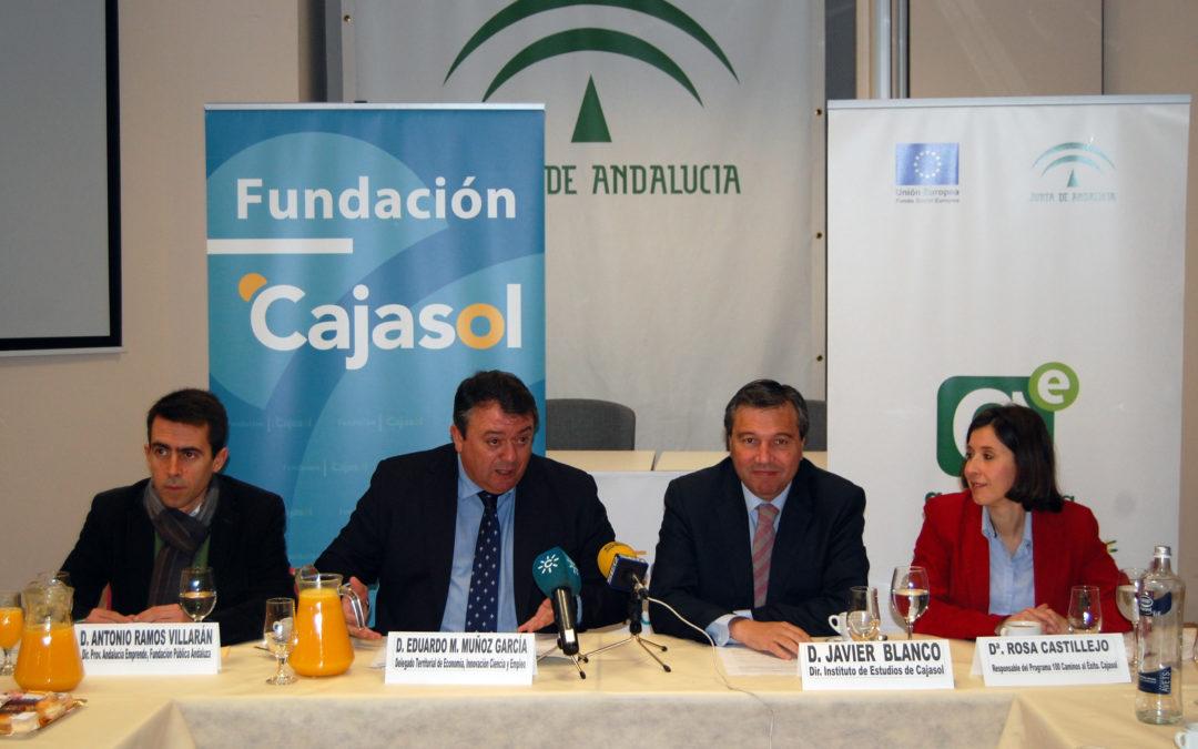 El II programa '100 Caminos al Éxito' se presenta en Huelva, donde siete proyectos ya se han puesto en marcha