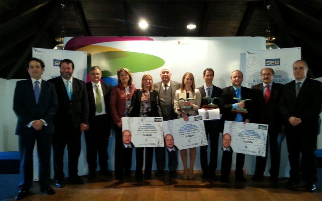 Los investigadores José Manuel Guerra, Raquel Callejón y Rafael Álvarez, galardonados con los III Premios Manuel Losada Villasante