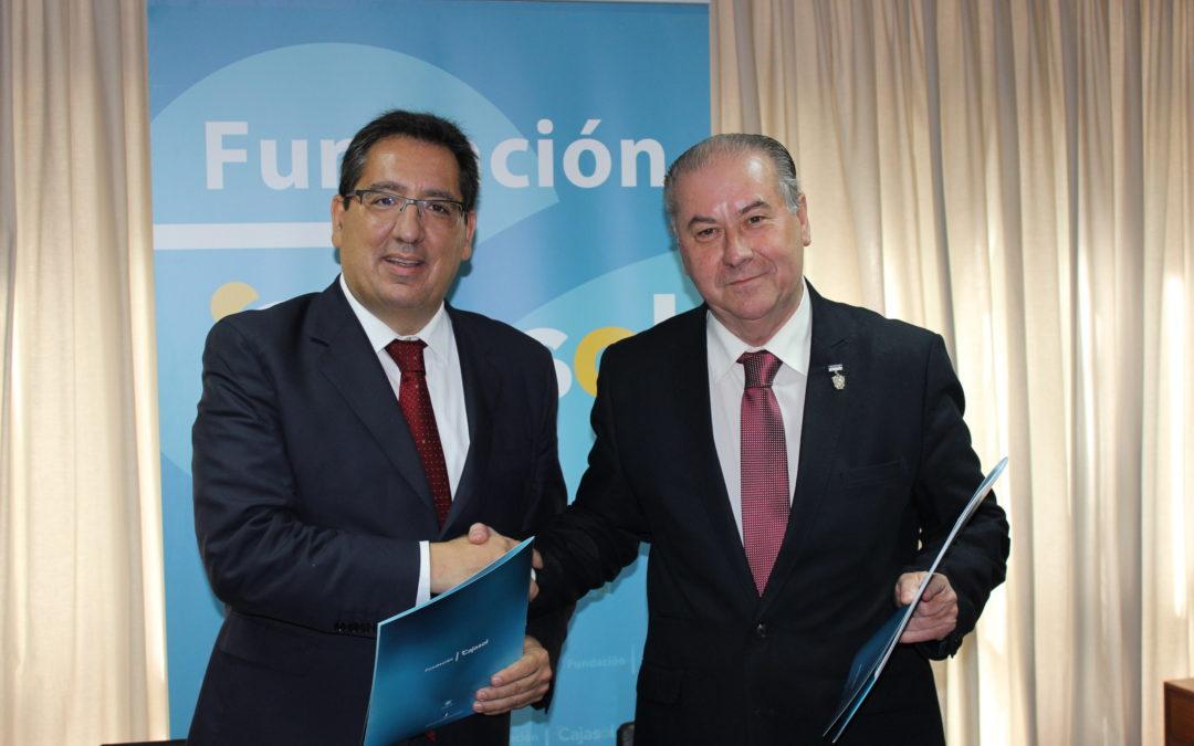 Antonio Pulido reafirma el compromiso de la Fundación Cajasol con la cultura y las tradiciones de Huelva