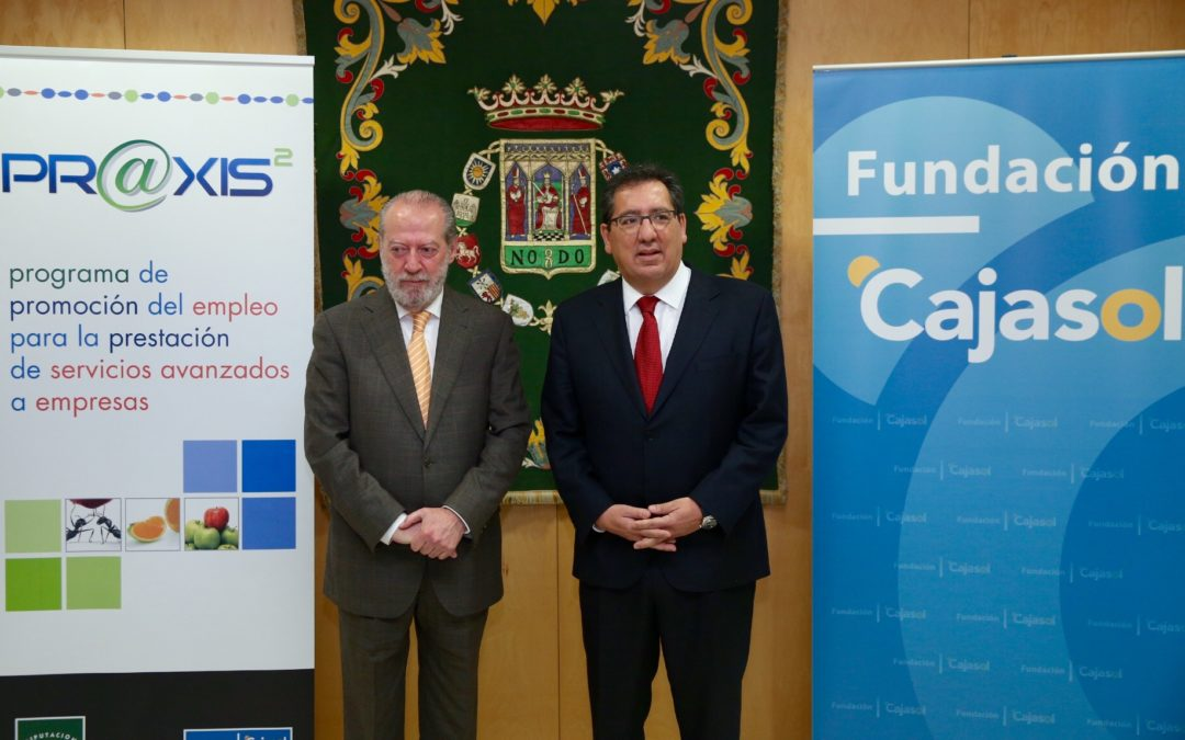 El proyecto Pr@xis facilitará un contrato laboral a 70 recién titulados en Sevilla para mejorar la competitividad de las Pymes