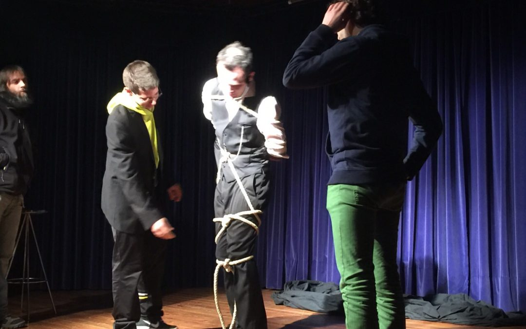 Alexis Melgar e Ismael Montoro sorprenden con su espectáculo de magia e ilusionismo