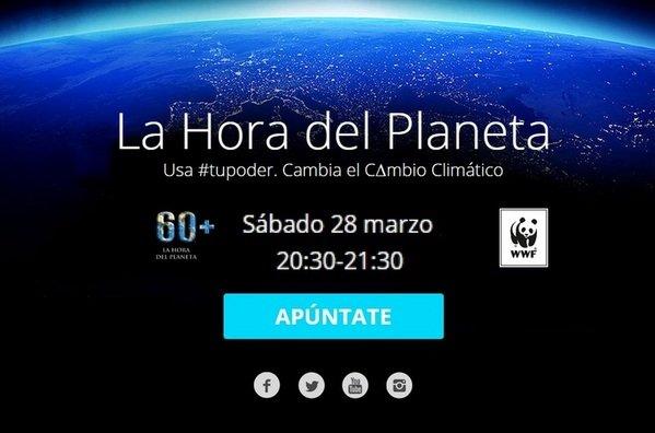 La Fundación Cajasol se une a 'La Hora del Planeta', apagón contra el cambio climático
