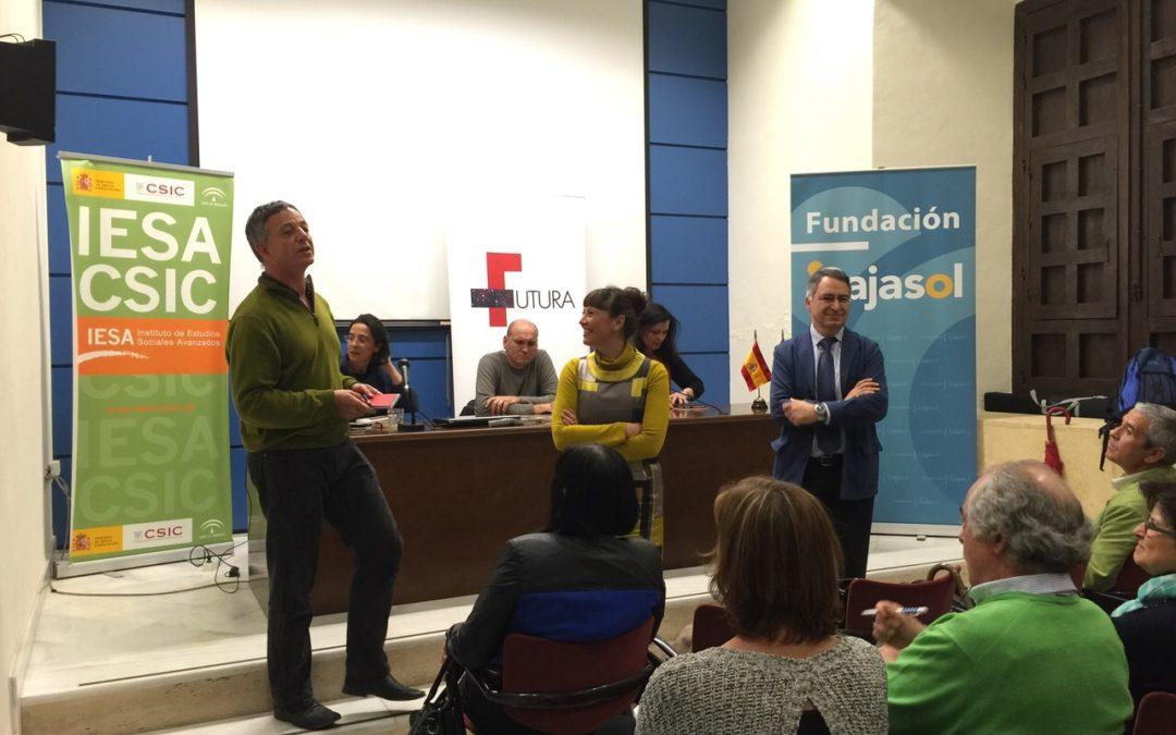 Irene Martín y Dora Makri lanzan 'Una mirada a Grecia' en IESA-CSIC Córdoba