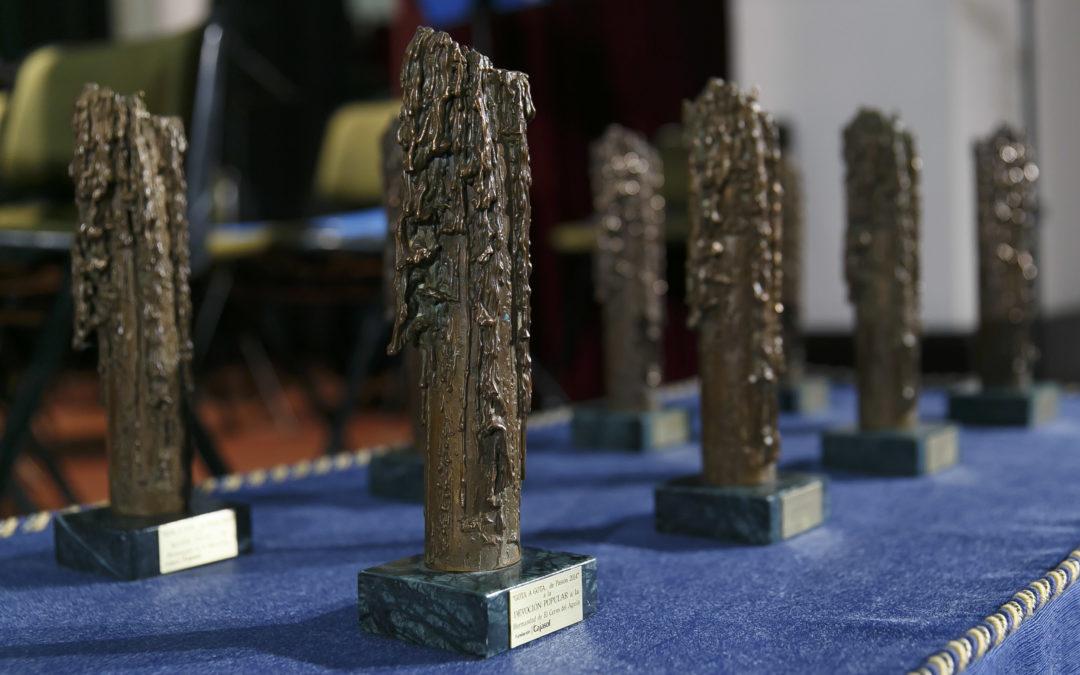 Entrega de los premios 'Gota a Gota de Pasión 2017' en la Fundación Cajasol