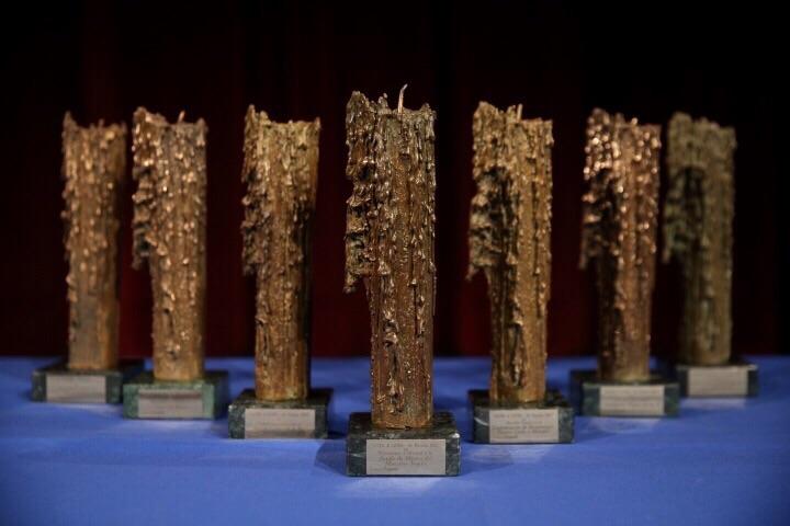 Los premios 'Gota a Gota de Pasión' de la Fundación Cajasol, un reconocimiento a la labor social y cultural del mundo cofrade de Sevilla