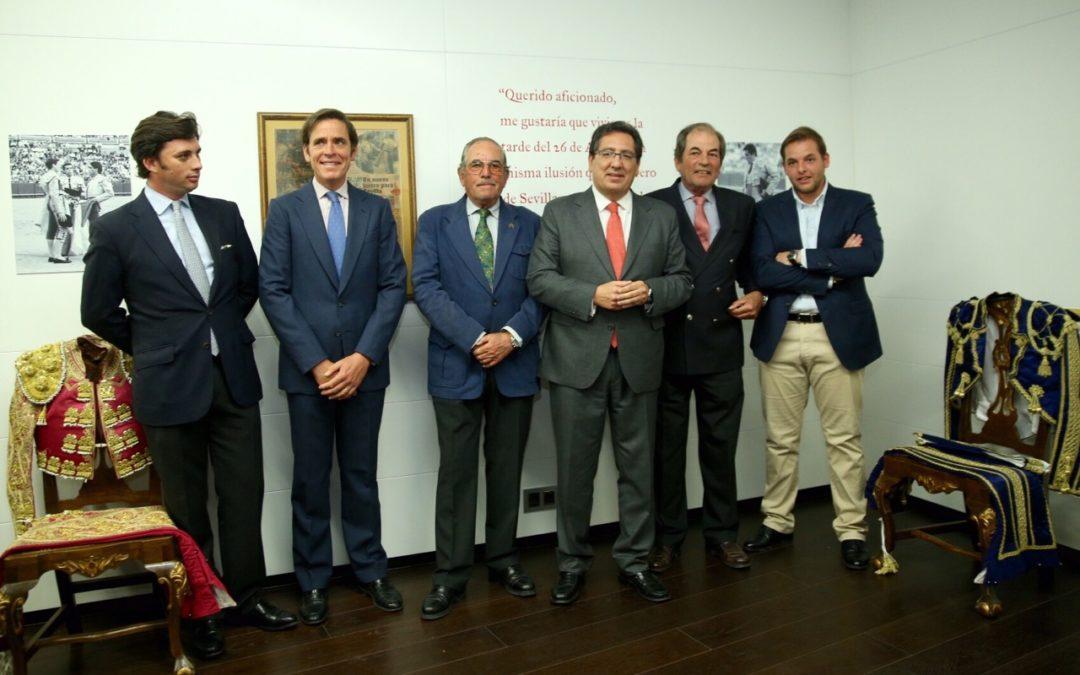 La Fundación Cajasol inaugura la muestra 'Miura y Sevilla', un recorrido por la historia de la ganadería y la familia