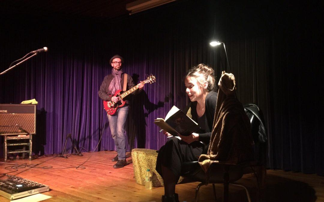 La música y la poesía se unen en La Butaca de la mano de Bosco The Fake y María Alcantarilla