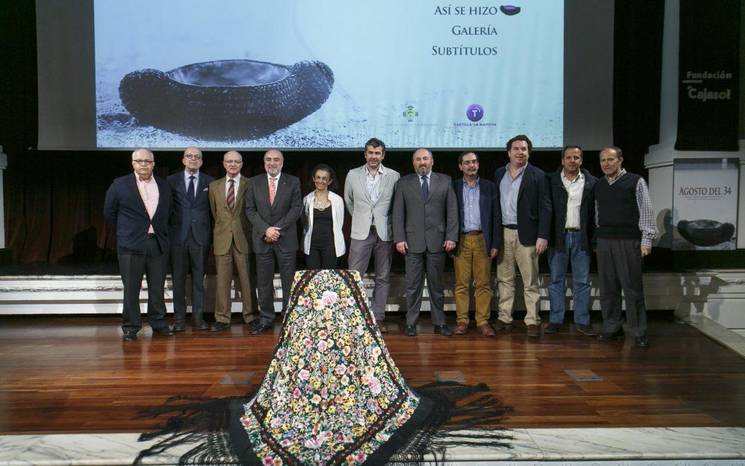 Presentación del cortometraje 'Agosto del 34' en la Fundación Cajasol