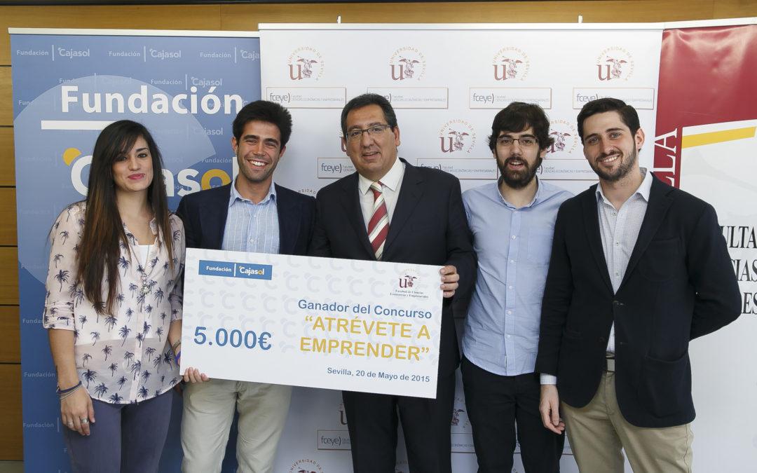 """Antonio Pulido: """"En la Fundación Cajasol somos conscientes de que hay pocas inversiones más rentables que el apoyo a nuestros emprendedores"""""""
