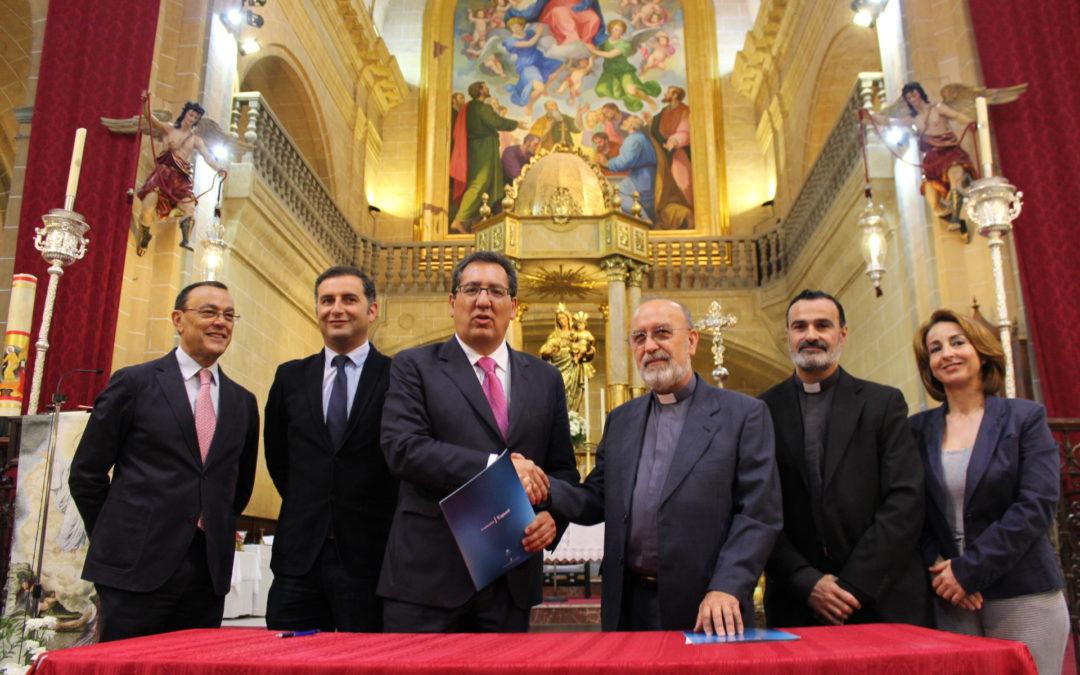 La Fundación Cajasol apuesta por la conservación del patrimonio histórico y artístico de la provincia de Huelva