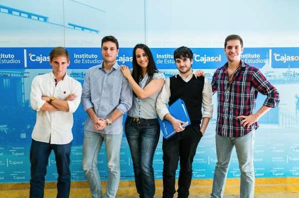 Las 'Becas USA' de la Fundación Cajasol con Advanced Leadership llevan de prácticas a EE.UU a 5 alumnos de Másteres del Instituto de Estudios Cajasol