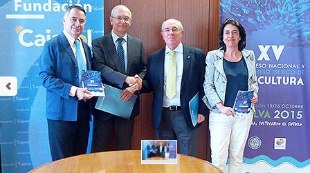 Fundación Cajasol apoyará la organización del XV Congreso Nacional de Acuicultura