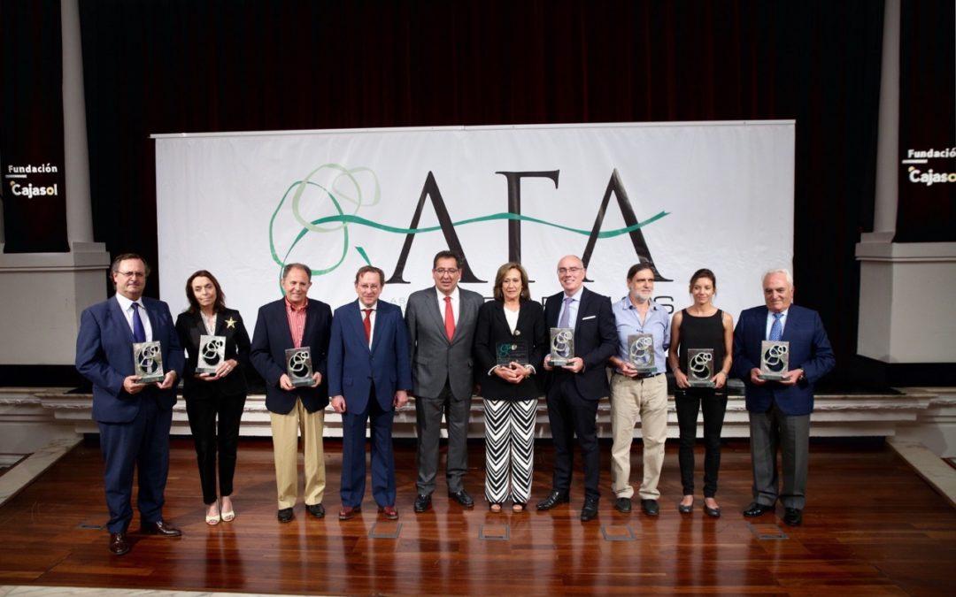 Entrega de los Premios AFA 2015 en la Fundación Cajasol