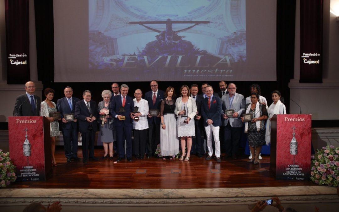 La Fundación Cajasol acoge la entrega de los III Premios Sevilla Nuestra