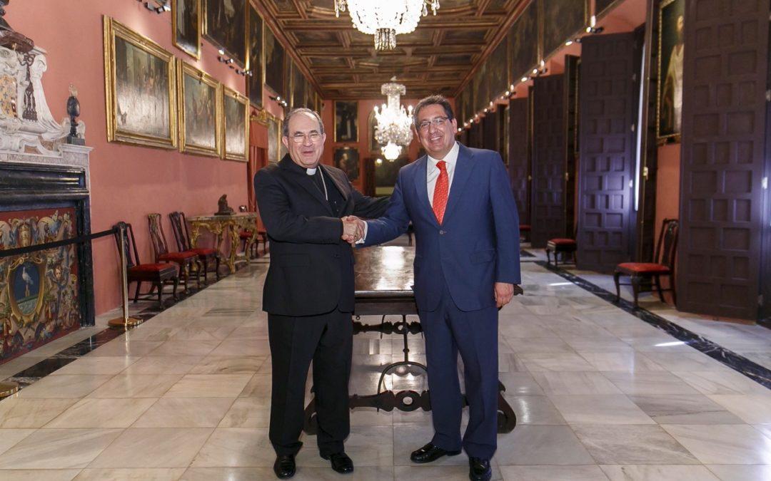 La Fundación Cajasol contribuye a la restauración de cuatro lienzos de la Archidiócesis de Sevilla