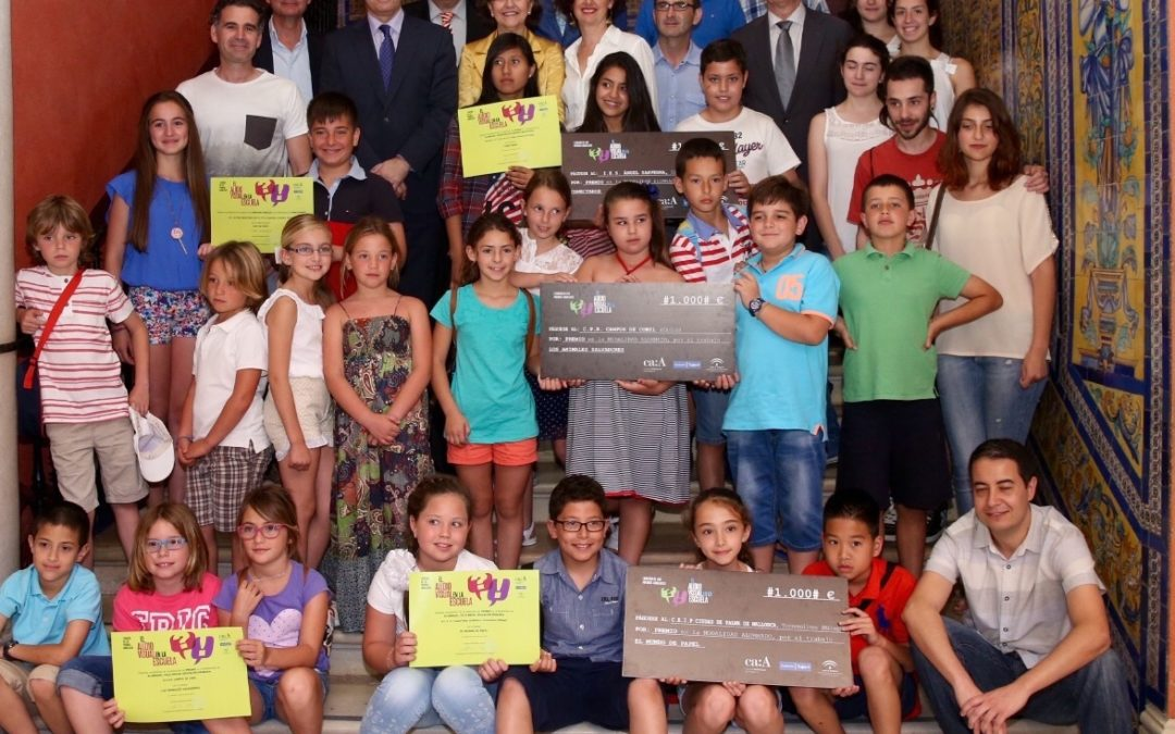 El Consejo Audiovisual de Andalucía entrega los I Premios Andaluces 'El Audiovisual en la Escuela' en la Fundación Cajasol
