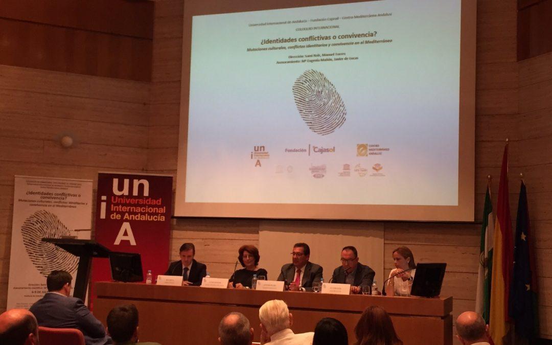 Antonio Pulido participa en coloquio internacional sobre '¿Identidades conflictivas o convivencia en el Mediterráneo?'