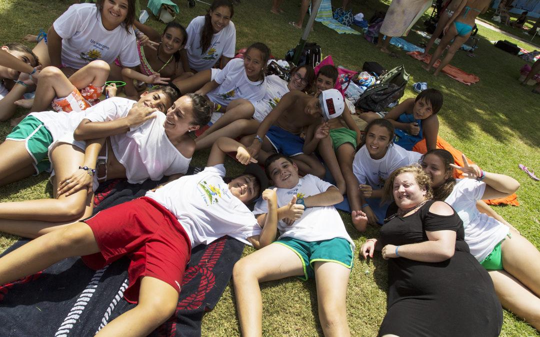 La Fundación Cajasol ofrece un verano diferente a un centenar de adolescentes