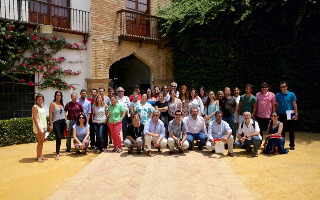 Clausura del curso 'El compás del tiempo del baile Flamenco' de la Universidad Pablo de Olavide