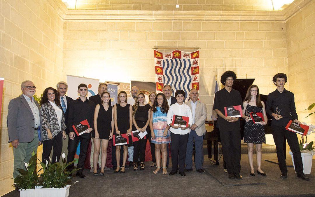 Mucho talento entre participantes y premiados en el I Certamen de Piano Ciudad de Jerez