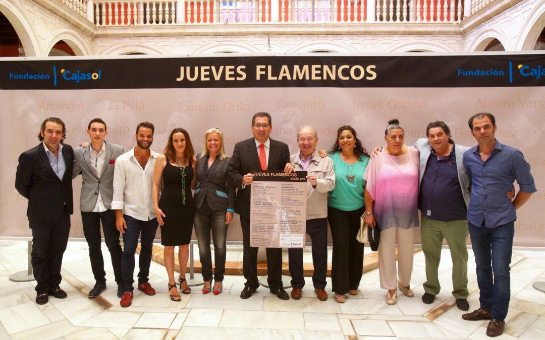 La XV edición de los Jueves Flamencos de la Fundación Cajasol inaugura el Otoño en Sevilla