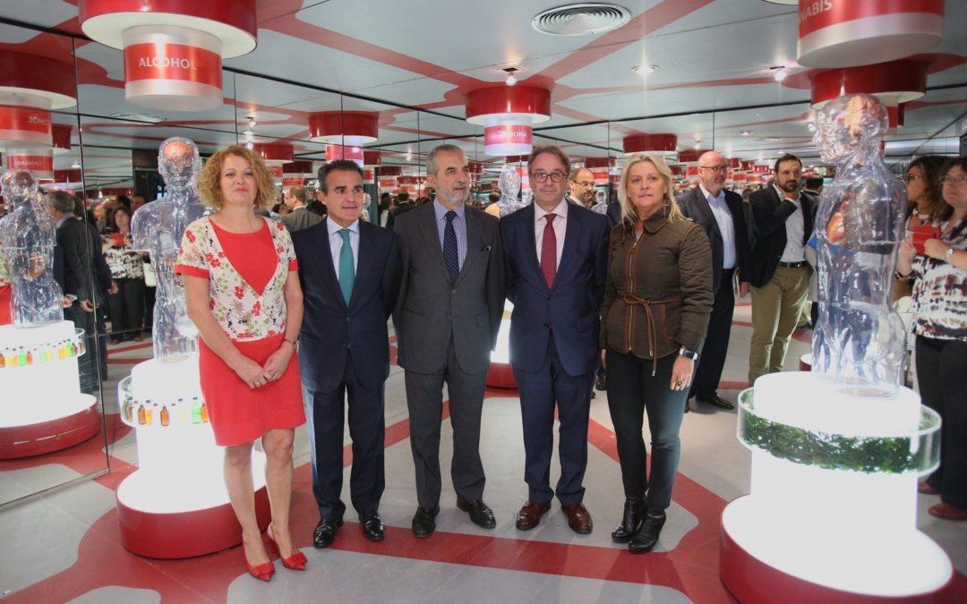 Fundación Cajasol y Obra Social 'la Caixa' presentan el programa de prevención del consumo de drogas en Sevilla