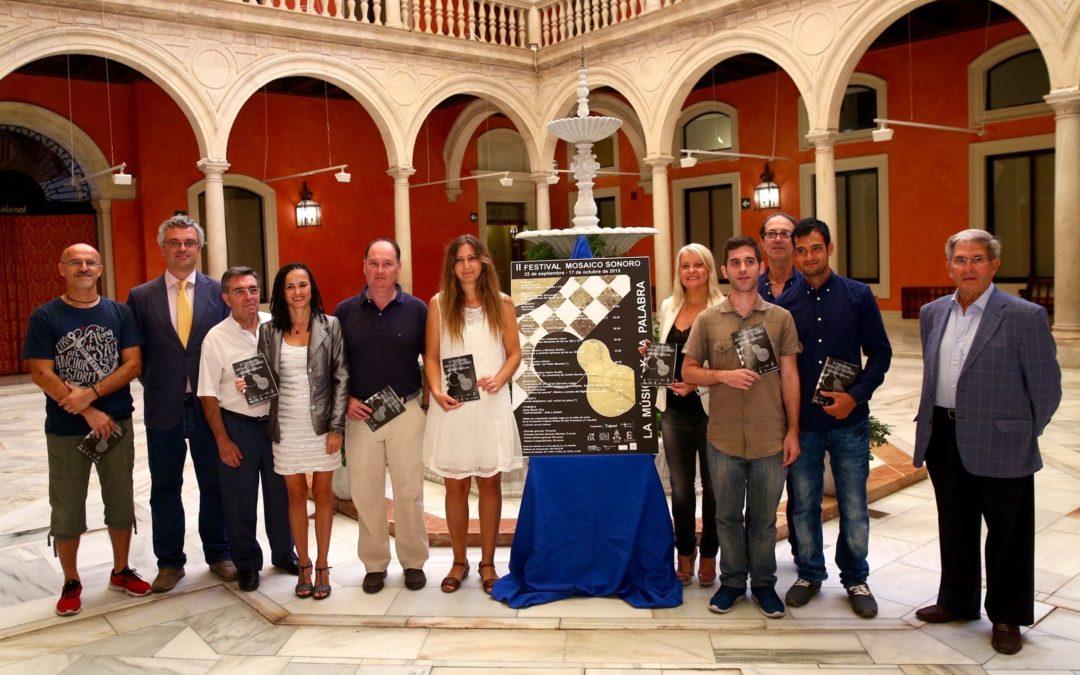 La música y la palabra se dan la mano en el II Festival Mosaico Sonoro