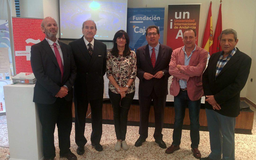 La Fundación Cajasol lleva su apuesta por el deporte para educar en valores al Seminario sobre los Valores olímpicos en el deporte actual en Tánger