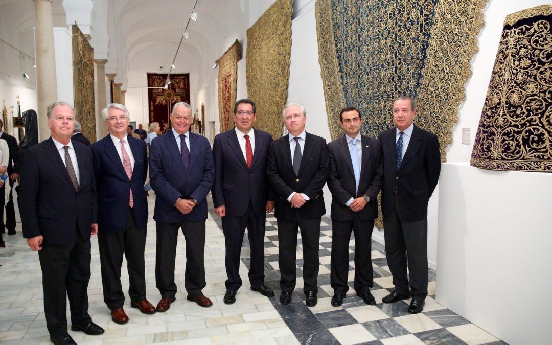 La Fundación Cajasol inaugura su nueva sala de exposiciones en el Hospital de la Santa Caridad