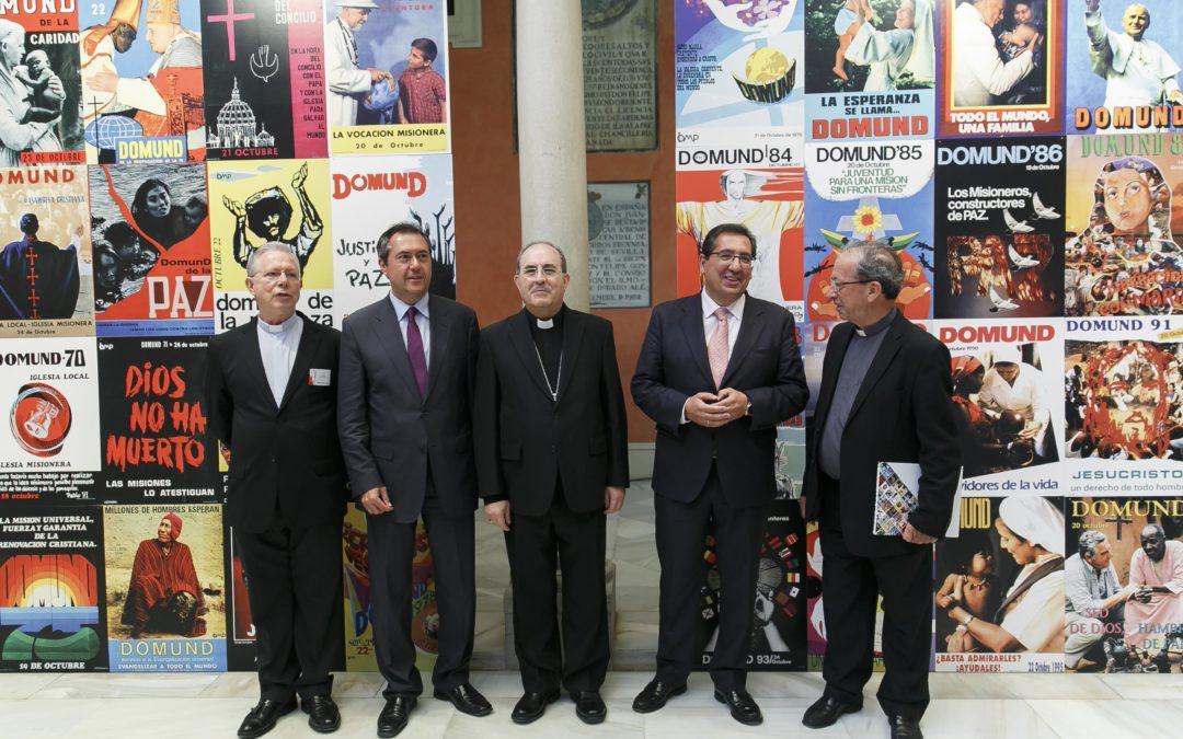 La Fundación Cajasol acoge la Semana Nacional del Domund en Sevilla